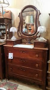 antique victorian dresser with wishbone