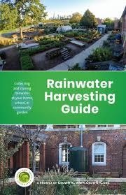 rainwater harvesting guide by grownyc