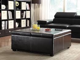 ottomans coffee table modern huge