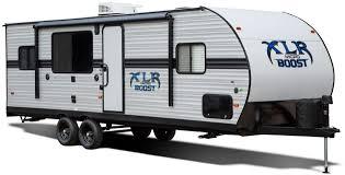 xlr micro boost toy hauler travel trailer