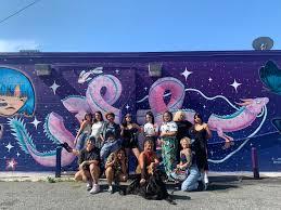 All Womxn Collaborative Mural in Springfield - Jacksonville, Florida —  Elena Øhlander
