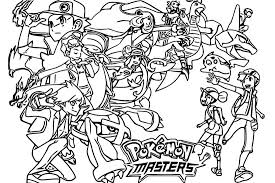 Kleurplaat Pokemon Games Op Mobiel Pokemon Masters 9