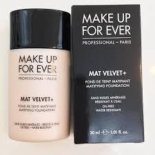 make up forever mat velvet foundation
