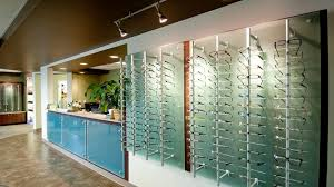 eyewear frame displays and optical