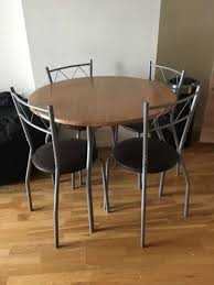 dining table 4 chairs only 10