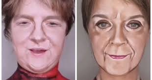 Makeup artist transforms into Lewis Capaldi and Nicola Sturgeon - Glasgow  Live