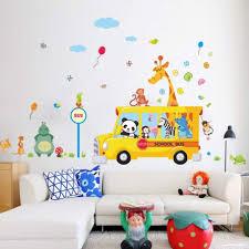 Tropical Forest Wall Decals Jungle Animal Safari For Baby Room Art Nursery Nz Zoo Bathroom Deer Vamosrayos