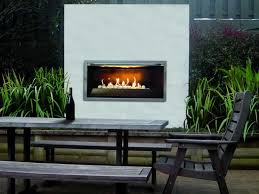 go with an outdoor gas fireplace