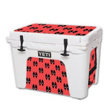 Mightyskins Protective Vinyl Skin Decal For Yeti Tundra 65 Qt Cooler Wrap Cover Sticker Skins Dead Eyes Pool Walmart Com Walmart Com