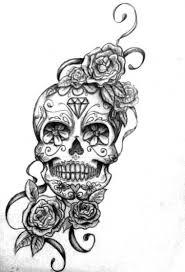 Day Of The Dead Dia De Los Muertos Sugar Skull Coloring Pages