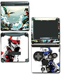 Mt Silver Red Special Edition Blue Pikachu Charizard Blastoise Video Game Vinyl Decal Skin Sticker Cover For Nintendo Gba Sp Gameboy Advance System By Vinyl Skin Designs Amazon Co Uk Pc Video Games