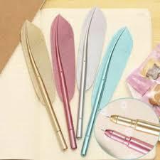feather gel cute pens 0 38mm