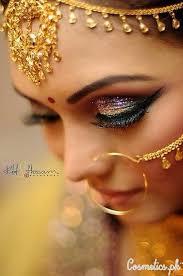 indian bridal eye makeup pictures