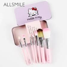 allsmile o kitty 7 pcs makeup brush
