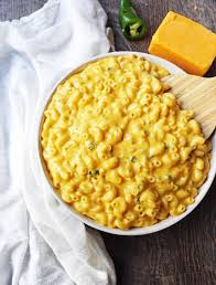 creamy jalapeno macaroni and cheese