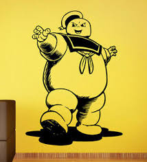 Ghostbusters Wall Decal Stay Puft Man Vinyl Sticker Home Mural Custom Decor 6 Ebay