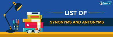 list of 400 english synonyms antonyms