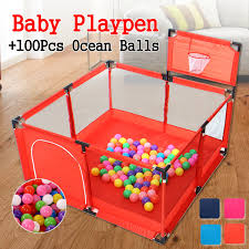 Baby Playpen For Children Pool Balls For Newborn Baby Fence Playpen For Baby Pool Children Playpen Kids Safety Barrier Balls Not Included Walmart Canada