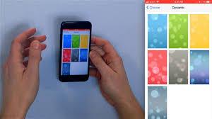 iphone wallpaper in the settings app