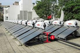 solar hot water heating system solar