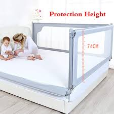 180 200cm Mahzong Bed Rails Fence Baby Shatter Resistant Protective Railings Childrens Bed Vertical Lifting Bed Guardrail 120 150 Color Pink Size L 150cm Brigs Com
