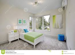 Contemporary Blue And Green Kid S Bedroom Stock Photo Image Of Indoors Furnished 93295966