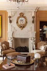 hand carved stone fireplace mantle