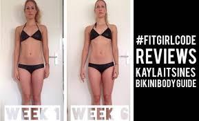 kayla itsines 12 week body guide