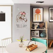 Wholesale Horse Wall Sticker Boho Chic Home Decor Animals Gypsy Spirit Wall Decal Removable Decals Removable Decals For Walls From Qiansuning666 33 43 Dhgate Com
