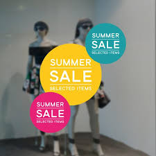 Summer Sale Retail Display Sign Removable Vinyl Decal Etsy