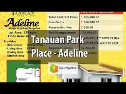 Tanauan Park Place - Adeline - YouTube