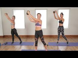 flat belly and toned arms workout