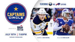 Josh Allen and Jack Eichel featured in new Bills and Sabres series ...
