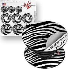 Amazon Com Decal Style Vinyl Skin Wrap 3 Pack For Popsockets Zebra Popsocket Not Included By Wraptorskinz Everything Else