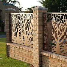 China Best Quality Aluminium Screen Fence Cheap Fence Panels For Fences China Sun Louver Fencing And House Fence Cladding Price
