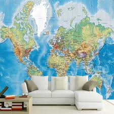 Dropship Custom Any Size Mural Wallpaper 3d World Map Kids Bedroom Living Room Decor Pvc Thicken Stickers Papel De Parede Free Wallpapers Free Wallpapers 4 Desktop From Luxurylifestle 18 3 Dhgate Com
