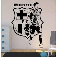 Leo Messi Football Players Wall Sticker Kids Room Bedroom Barcelona Football Player Wall Decal Living Room Vinyl Home Decor Bespoke Signs Shopfits Flooring