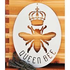 Trule Metal Queen Bee Wall Sticker Decal Wayfair