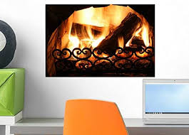 Amazon Com Wallmonkeys Old Fireplace Wall Decal Peel And Stick Graphic Wm268337 18 In W X 12 In H Home Kitchen