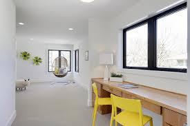 Modern Kids Room With Wood Desk For Homework Hgtv