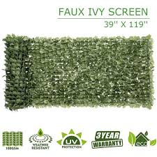 Ktaxon Faux Ivy Leaf Decorative Privacy Fence Screen Walmart Com Walmart Com