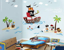 10 Off Coupon On Pirates Wall Decal Treasure Island Wall Decal Playroom Wall Decals Pirates Wall Sticker Nursery Baby Room Decor Pirate Ship Wall Decal By Styleywalls Etsy Coupon Codes