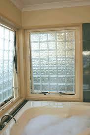 twin opening bathroom windows