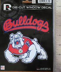 California State University Fresno Bulldogs Die Cut Decal College Sticker Ebay