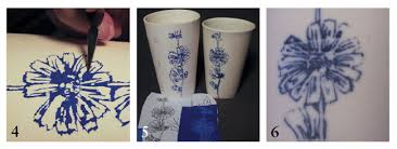 Carbon Copy Underglaze Transfer Paper Makes It Easy To Transfer Images Ceramic Arts Network
