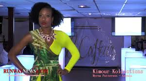 Myrna Patterson as seen at the Le Coiffeur Yacht Fashion Show - YouTube