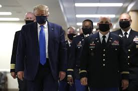 How Trump went from shunning to wearing a mask in the pandemic - Los  Angeles Times
