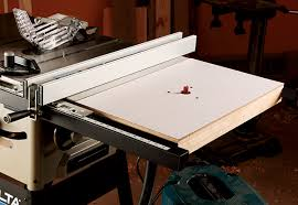 Router Table Plan Table Saw Upgrade Extension Wing