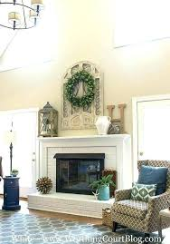 amusing decorating ideas for mantels