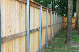 Privacy Fence With Metal Posts A Better Approach